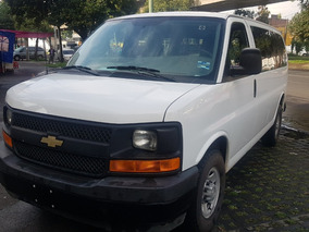 Chevrolet Express 6.0ls D 12 Pas At 2017 Oportunidad !!!