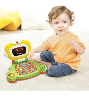 Juguete Laptop Bebe C/sonido Y Luces B-kids Bluebox 004625