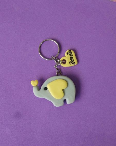 Chaveiro Elefante Lembrancinha 100 Unidades