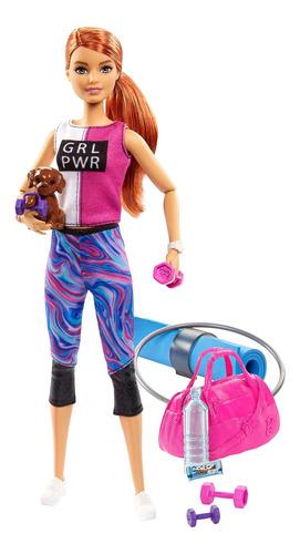 Imagen 1 de 7 de Barbie Fashionista, Día De Spa Yoga