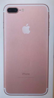 iPhone 7 Apple Plus 32 Gb Tela 5.5 Ouro Rosa Seminovo Brinde