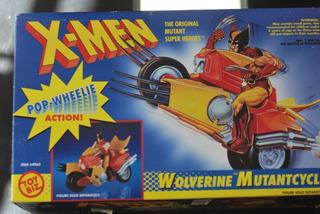 Marvel Toy Biz Wolverine Mutantcycle X Men Avengers