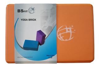 Brick Bloque Ladrillo Taco Yoga Piltates Fitness Gym Sport