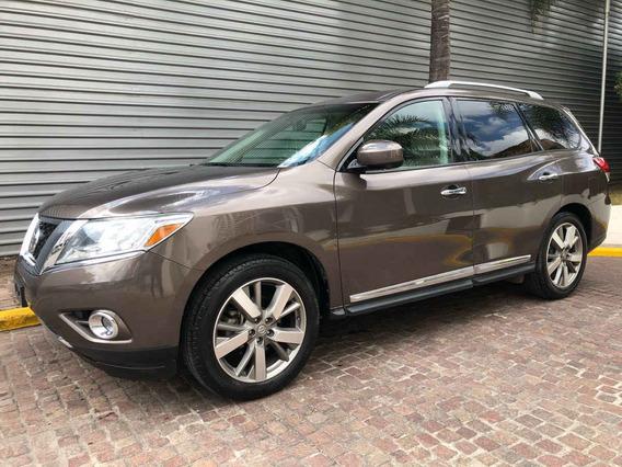 Nissan Pathfinder 2015 5p Exclusive V6/3.5 Aut