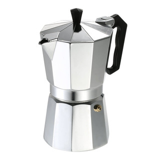 Cafetera Aluminio Clasica 150ml 3 Pocillos Bae