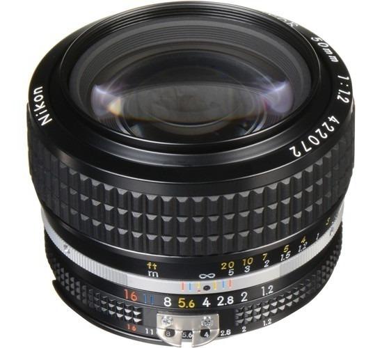 Lente Nikkor Ais 50mm F1.2 Fx