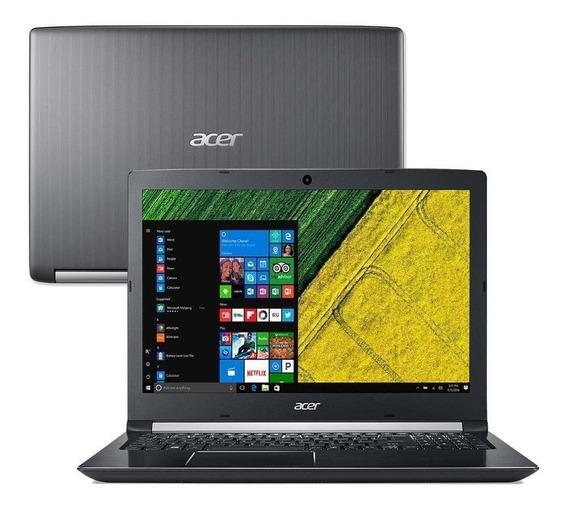 Notebook Acer A515-51-75rv I7 8gb Ram 1tb Hd 15.6 Windows 10 2cameras Usb3.0 Slot M2 Disponível