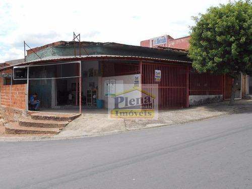 Salão À Venda Com 347 M² - Jardim Paulistano - Sumaré/sp - Sl0422
