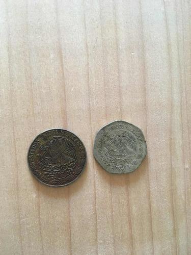 Imagen 1 de 3 de Monedas De 5 Y 10 Pesos
