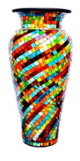 Jarrón Copa 80 Cm Venecitas Exotico Decoración Moderno Living 101.040080