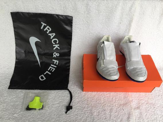 Zapatillas De Atletismo C/ Clavos. Blanco Plata Consultar