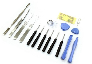 Kit 17 Ferramentas Manutenção Celular Tablet Smartphone Nf-e