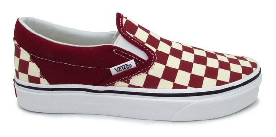 Tenis Vans Classic Slip On Vn0a38f7vlw Checkerboard Rumba Re