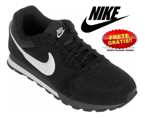 Tênis Nike Md Runner 2 Preto Branco Original