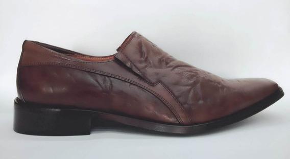 Sapato Social Masculino Di Pollini Couro Café
