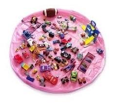 Saco Organizador De Brinquedos Multiuso Infantil Meninas