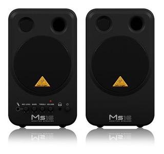 Monitorres Activo Multimedia Behringer Ms16