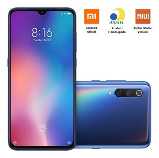 Xiaomi Mi 9 128gb 6.39 Pol 6gb Ram 4g Dual Sim Azul 9.0 Pie