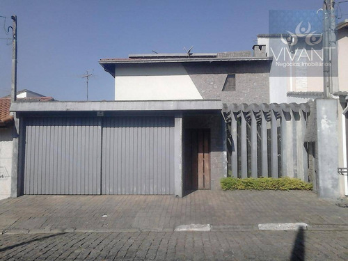 Imagem 1 de 30 de Sobrado À Venda, 331 M² - Sítio São José - Suzano/sp - So0024