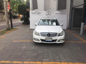 Mercedes-benz C Class 2013 4p C 200 Cgi Exclusive Aut