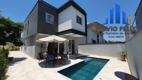 Casa Em Condominio Real Park Arujá Com 3 Suítes A Área Gourmet - 625