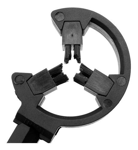 DAUERHAFT Cepillo de aleaci/ón de Aluminio Accesorio de Tiro con Arco de Descanso de Flecha 3.15x2.76x2.36 Pulgadas Ligero Adecuado para Mano Izquierda y Derecha