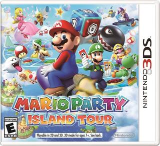 Mario Party Island Tour Nintendo 3ds Mídia Física Lacrado