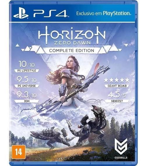 Horizon Zero Dawn Complete Edition - Ps4 - Novo - Lacrado Br