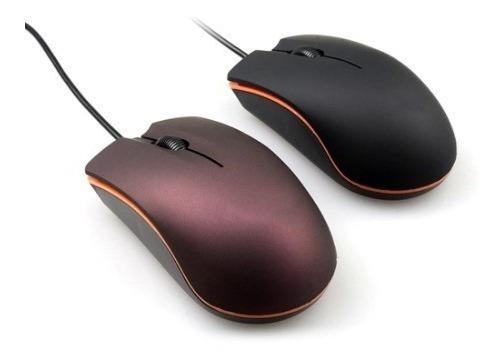 Mouse De Pc Cable Usb 2.0 Computadora Laptop Oficina Raton