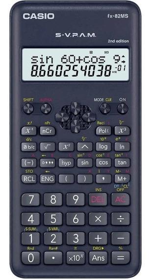 Calculadora Casio Fx-82ms 2nd Edition Svpam 240 Funções Nfe