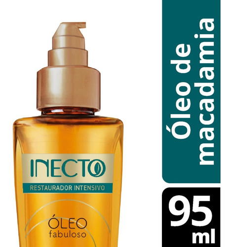 Óleo Fabuloso Inecto Aceite De Macadamia Restaurador X 95ml