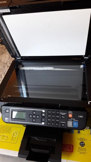 Impressora Multifuncional Epson L565 4 Em 1 Bivolt Semi-nova
