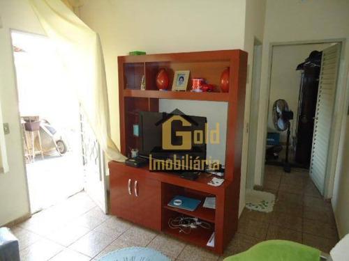 Casa Com 2 Dormitórios À Venda, 135 M² Por R$ 250.000,00 - Jardim Castelo Branco - Ribeirão Preto/sp - Ca0973
