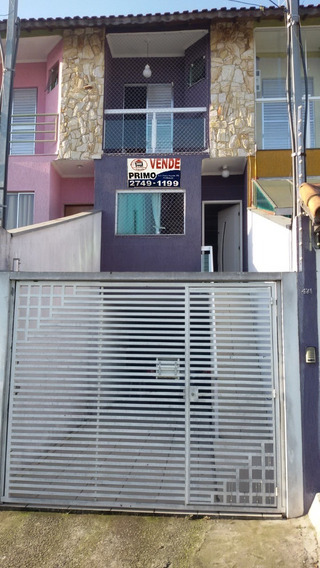 V318 - Amplo Sobrado 170m2 De Construção - Vila Nhocuné