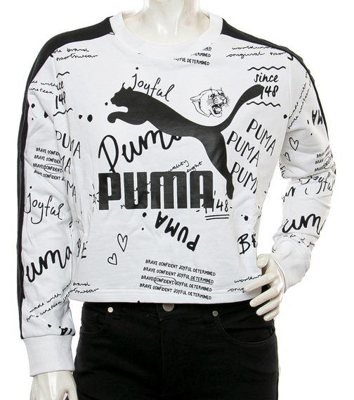 Buzo Classics Logo Crew Puma Blast Tienda Oficial