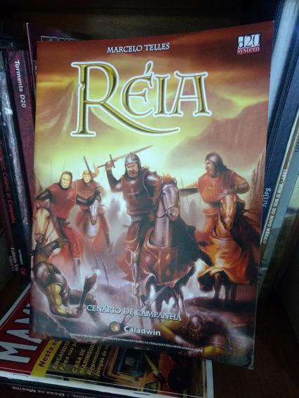 Réia D&d 3.5 - Livro De Cenário Básico