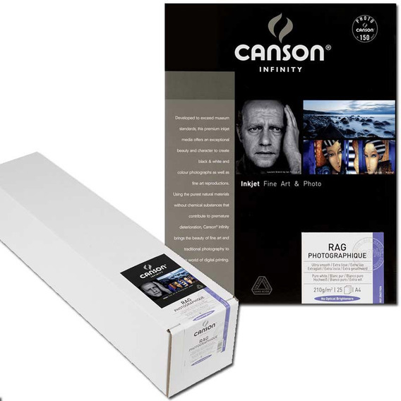 Papel Fotográfico Canson Rag Photographique A2 310gsm