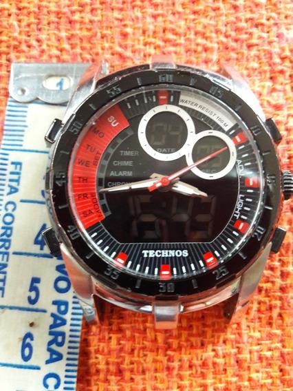 Relógio Technos Ca251a Funciona Leia A Descrição