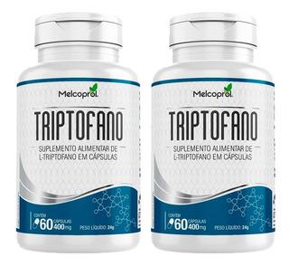 Triptofano - 2x 60 Cápsulas - Melcoprol