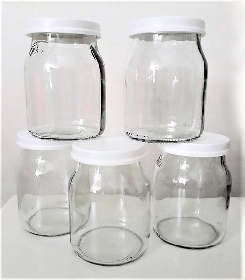 Frasco De Vidrio Yogurt Dahi Perfecto Estado Por 30 Unidades