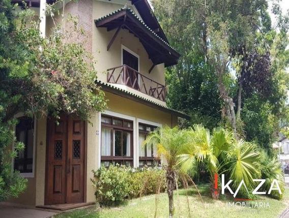 Casa Em Condomínio Fechado Na Lagoa Da Conceição -florianópo - 3796