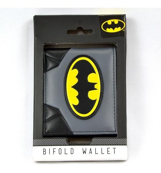 Batman Dc Comics Cartera Bifold Importada 100% Original