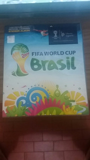 Album Copa Do Mundo 2014 Completo, Com Figurinhas Adicionais