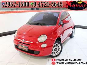 Fiat 500 1.4 Cult 2p Vermelha Financiamento Próprio 9658