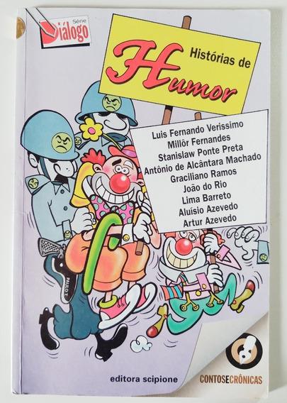 Livro Histórias De Humor - Luiz Fernando Verissimo - Millôr.
