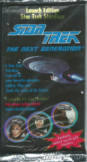 Star Trek. 6 Cards Año 1994 The Next Generation