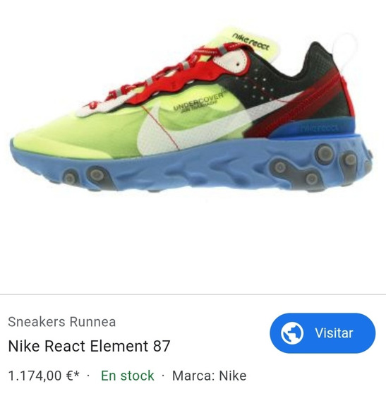 Nike React Element 87 By Undercover Unicas