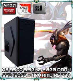 Cpu Pc Gamer A6 9500 Dual Core 3.5ghz 8gb Ddr4 Ssd120 Bg2312