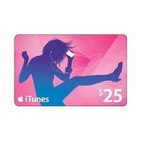 Cartão Apple Itunes $ 25 Estados Unidos: Entregar 5 Min