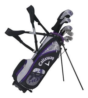 Kaddygolf Set Golf Junior Callaway Xj - 5 A 8 Años - Nena